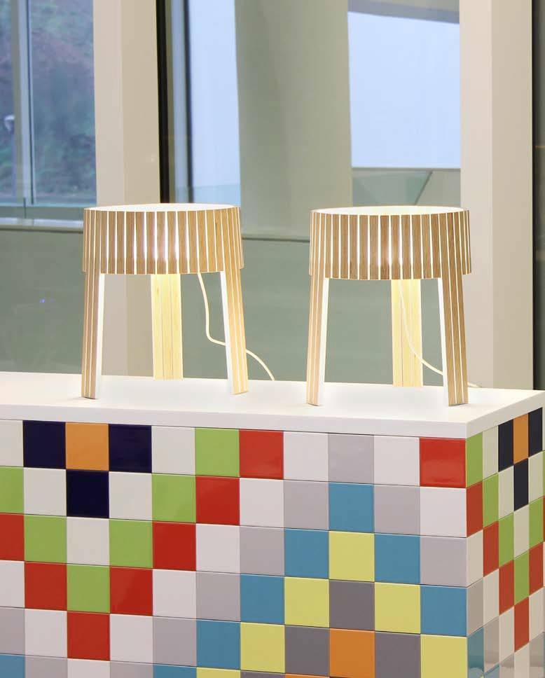 Lampa stołowa Shio, Arturo Alvarez