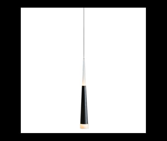 Lampa wisząca Brina 1 LED LP9003-1 BK czarna Azzardo