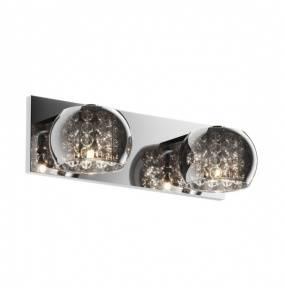 ŻARÓWKI LED GRATIS! Kinkiet Crystal W0076-02A-B5FZ Zuma Line Podwójna kryształowa oprawa ścienna