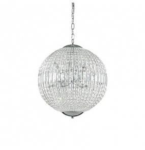 Lampa wiszsząca LUXOR SP8 CHROM 116228 Ideal Lux