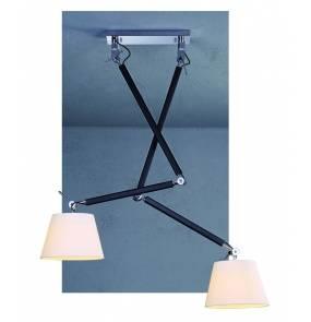 Lampa sufitowa Zyta MD2300-2S-WH AZzardo ŻARÓWKI LED GRATIS!