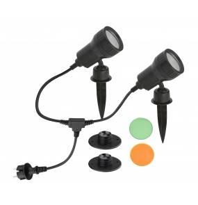 Lampa ogrodowa reflektor LED Terra 3077-025 komplet 2 szt Artemodo