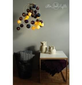 Kolorowe kulki LED kompozycja - Night Sky