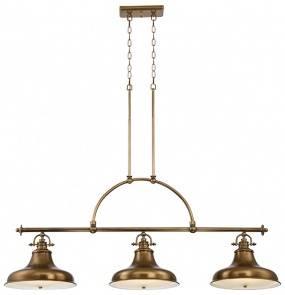 Lampa wisząca Emery QZ/EMERY3P WS Quoizel