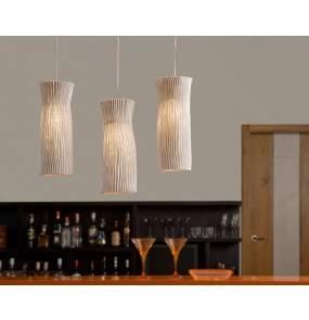 Lampa wisząca Gea Ge04 biała Arturo Alvarez