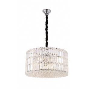 Lampa wisząca Puccini P0267 oprawa kryształowa okrągła Maxlight