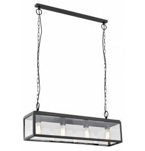 Lampa wisząca Loft 10161406 oprawa ciemny brąz Kaspa