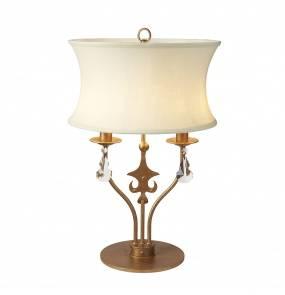 Lampa stołowa Windsor WINDSOR/TL oprawa stojąca złota patyna Elstead lighting
