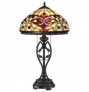 Lampa stołowa Kings Pointe QZ/KINGS POINTE oprawa stojąca brąnzowa Quoizel