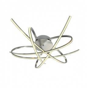 Plafon Ponta PL170855-5 Zuma Line srebrna oprawa w stylu design