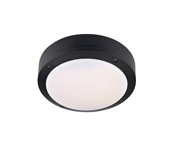 Lampa zewnętrzna sufitowa Luna LED  IP44 106535 Markslojd czarna zewnętrzna oprawa sufitowa