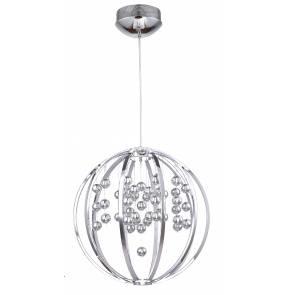 Lampa wisząca Imola LP-2930/1P Light Prestige kulista oprawa w stylu kryształowym