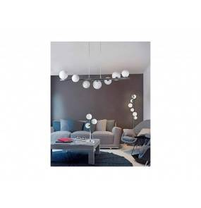Lampa podłogowa Sybilla DEL-8389-6F Azzardo dekoracyjna oprawa w nowoczesnym stylu
