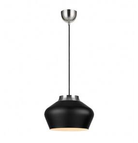 Lampa wisząca Kom 107378 Markslojd czarna oprawa w stylu design