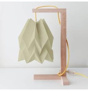 Lampa stołowa Table Light Taupe Orikomi szaro-brązowa oprawa w minimalistycznym stylu