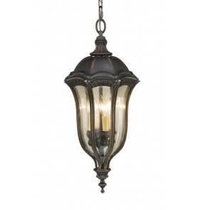 Lampa wisząca zewnętrzna Baton Rouge FE/BATONRG8 Feiss klasyczna oprawa w kolorze brązowym