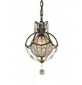 Lampa wisząca Bellini FE/BELLINI/P Feiss dekoracyjna oprawa w kryształowym stylu