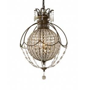 Lampa wisząca Bellini FE/BELLINI3 Feiss kulista oprawa w dekoracyjnym stylu