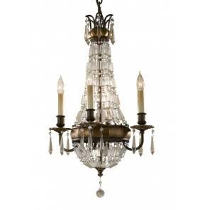 Żyrandol Bellini FE/BELLINI4 Feiss dekoracyjna oprawa w klasycznym stylu