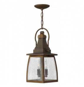 Lampa wisząca zewnętrzna Montauk HK/MONTAUK CHAIN Hinkley dekoracyjna oprawa w klasycznym stylu