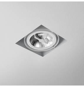 Oczko stropowe SQUARES 111x1 trimless 230V oprawa wpuszczana 37511-0000-U8-PH AQform pojedyncza oprawa w minimalistycznym stylu