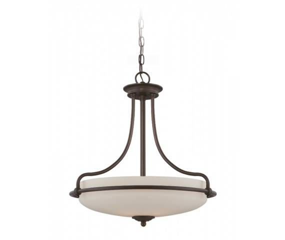 Lampa wisząca Griffin QZ/GRIFFIN/P PN Quoizel dekoracyjna oprawa w kolorze brązu