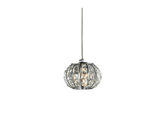 Lampa wisząca Calypso SP1 044187 Ideal Lux oprawa w stylu kryształowym