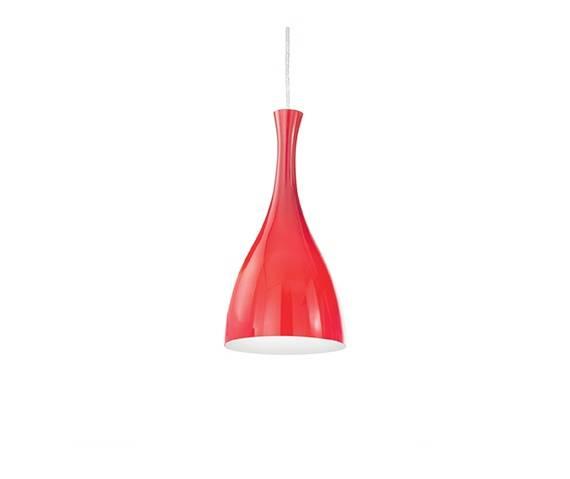 WYSYŁKA 24H! Lampa wisząca czerwona w stylu design ARTEMODO