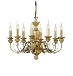 Lampa wisząca Firenze SP8 020839 Ideal Lux klasyczna oprawa kolorze złotym