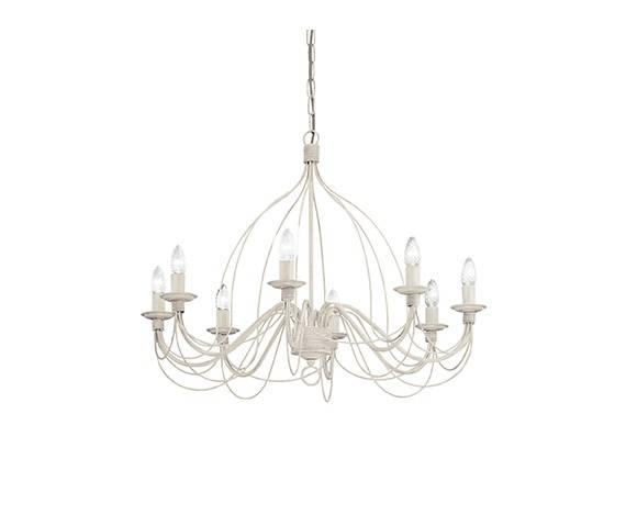 Lampa wisząca Corte SP8 Ideal Lux oprawa wisząca w klasycznym stylu