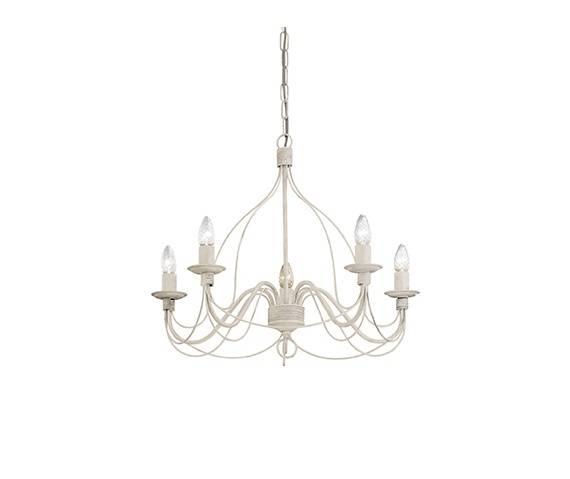 Lampa wisząca Corte SP5 Ideal Lux oprawa wisząca w klasycznym stylu