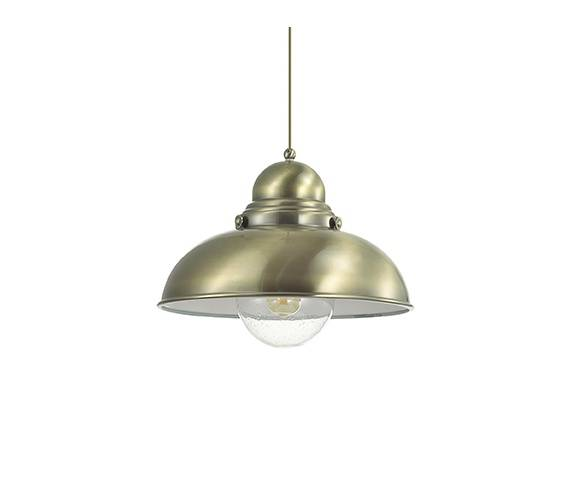 Lampa wisząca Sailor SP1 D43 025285 Ideal Lux oprawa w kolorze patyny