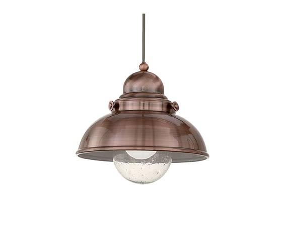 Lampa wisząca Sailor SP1 D29 025278 Ideal Lux oprawa w kolorze miedzi
