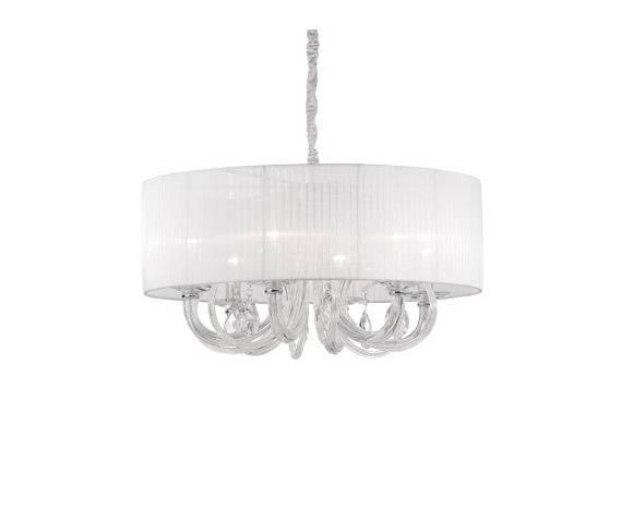 Lampa wisząca Swan SP6 Ideal Lux dekoracyjna oprawa w stylu klasycznym