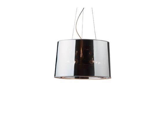Lampa wisząca London SP5 032351 Ideal Lux nowoczesna oprawa w kolorze chromu