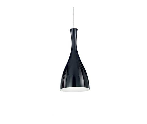 Lampa wisząca Olimpia SP1 012919 Ideal Lux czarna oprawa w nowoczesnym stylu