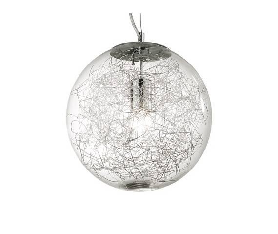 Lampa wisząca Mapa Max SP1 SP1 045115 Ideal Lux nowoczesna oprawa w kolorze aluminium