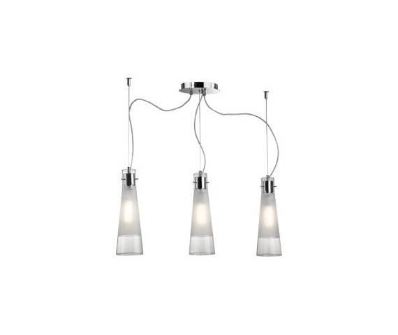 Lampa wisząca Kuky Clear SP3 033952 Ideal Lux transparentna oprawa w nowoczesnym stylu