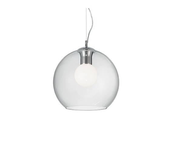 Lampa wisząca Nemo Clear SP1 D30 052809 Ideal Lux szklana oprawa w stylu design