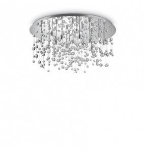 Plafon Neve PL15 Ideal Lux kryształowa oprawa w nowoczesnym stylu