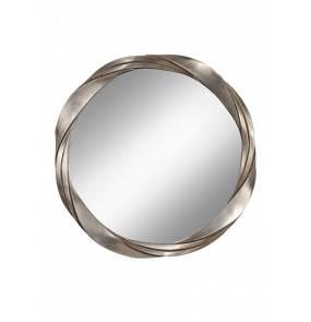 Lustro Silver Twist FE/SILVERTW MIRR Feiss dekoracyjne lustro w kolorze srebrnym