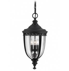Lampa wisząca zewnętrzna English Bridle FE/EB8/L BLK Feiss czarna dekoracyjna oprawa w klasycznym stylu