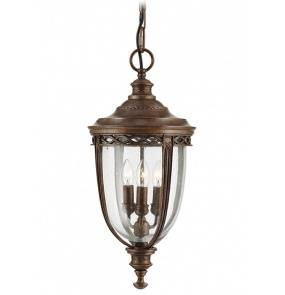 Lampa wisząca zewnętrzna English Bridle FE/EB8/L BRB Feiss klasyczna oprawa w kolorze brązu