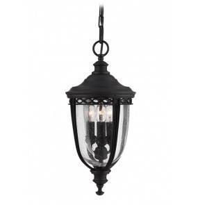 Lampa wisząca zewnętrzna English Bridle FE/EB8/M BLK Feiss dekoracyjna oprawa w kolorze czarnym