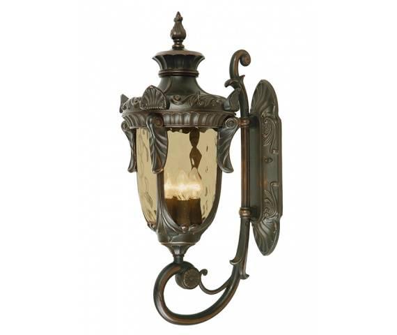Kinkiet zewnętrzny Philadelphia PH1/L OB Elstead Lighting klasyczna oprawa w kolorze antycznego brązu