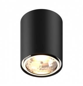 Oprawa sufitowa spot Box 50630 Zuma Line czarna cylindryczna oprawa z jednym źródłem światła