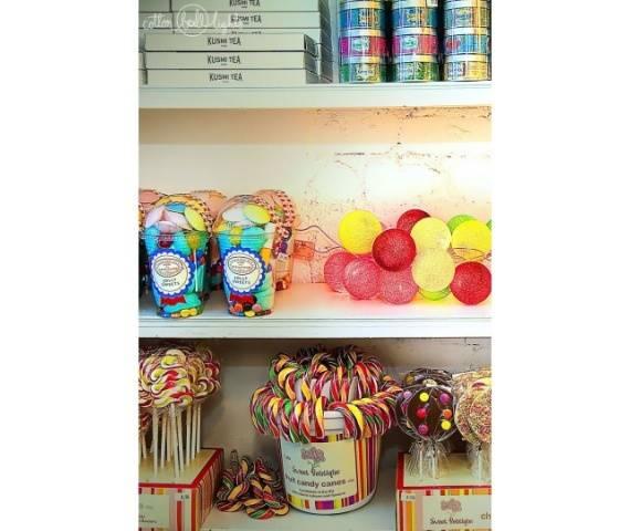 Kolorowe kulki kompozycja - Candy