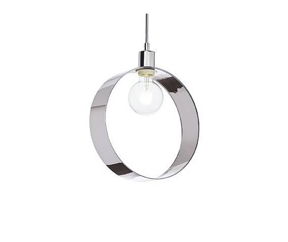 WYSYŁKA 24H! Lampa wisząca chromowana w kształcie okręgu ARTEMODO