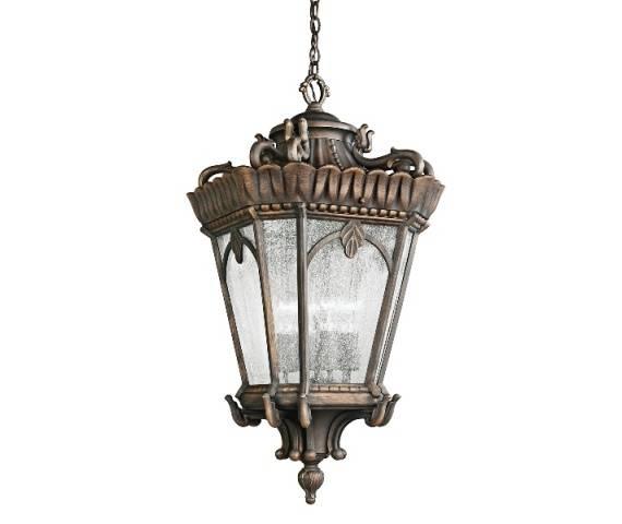 Lampa wisząca zewnętrzna Tournai KL/TOURNAI8/M Kichler dekoracyjna oprawa w klasycznym stylu