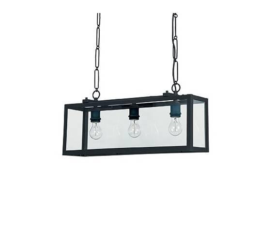 Lampa wisząca Igor SP3 092881 Ideal Lux nowoczesna oprawa w kolorze czarnym